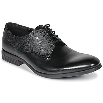 Shoes Men Derby Shoes Clarks GILMORE  black / Leather