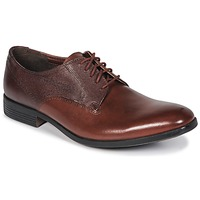 Shoes Men Derby Shoes Clarks GILMORE British / Tan / Lea