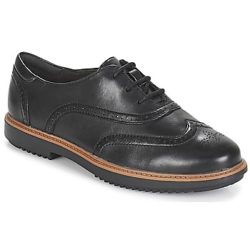 Shoes Women Derby Shoes Clarks Raisie Hilde  black