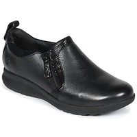 Shoes Women Derby Shoes Clarks Un Adorn Zip  black / Combi