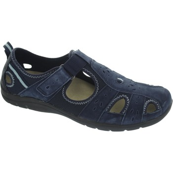Shoes Women Loafers Earth Spirit Cleveland Navy Blue
