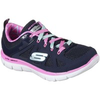 Shoes Girl Low top trainers Skechers Skech Appeal 2.0 Simplistic Girls Trainers blue