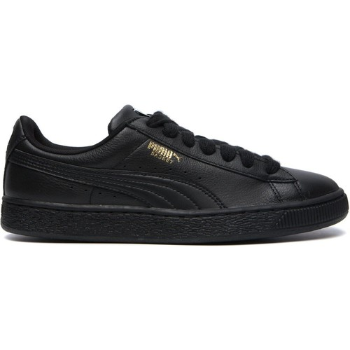 Shoes Men Trainers Puma - Basket Classic LFS - black/team gold Black
