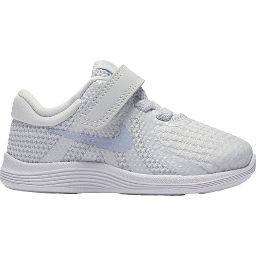 Shoes Children Low top trainers Nike Revolution 4 Tdv Grey-Blue-White