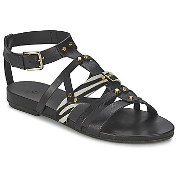 Shoes Women Sandals Vic GINKO ACHANTUS Black