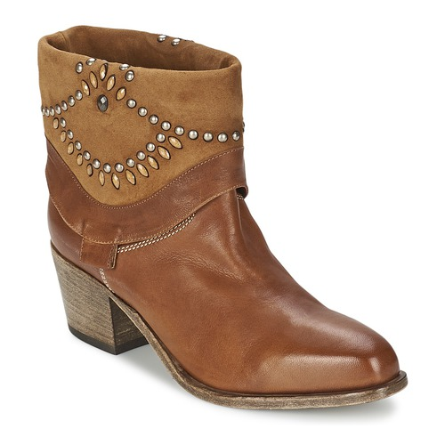 Shoes Women Ankle boots Vic AGAVE Brown