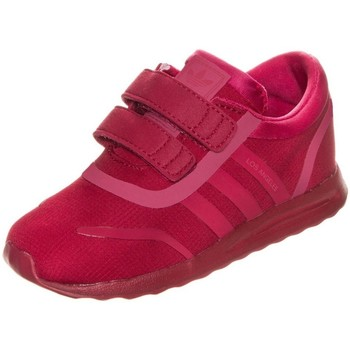 Shoes Children Low top trainers adidas Originals Los Angeles Red