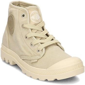 Shoes Women Hi top trainers Palladium Pampa HI Yellow