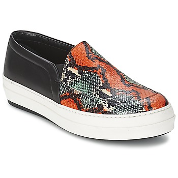 Shoes Women Slip-ons McQ Alexander McQueen DAZE Black / Multicoloured