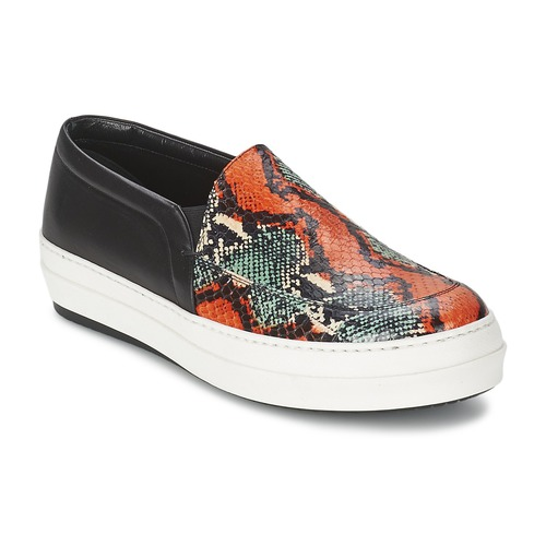 Shoes Women Slip-ons McQ Alexander McQueen DAZE Black / Multicolour