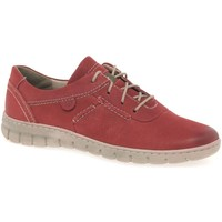 Shoes Women Low top trainers Josef Seibel Steffi 07 Womens Lace Up Shoes red