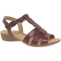 Shoes Women Sandals Gabor Solar Womens Casual Sandals red