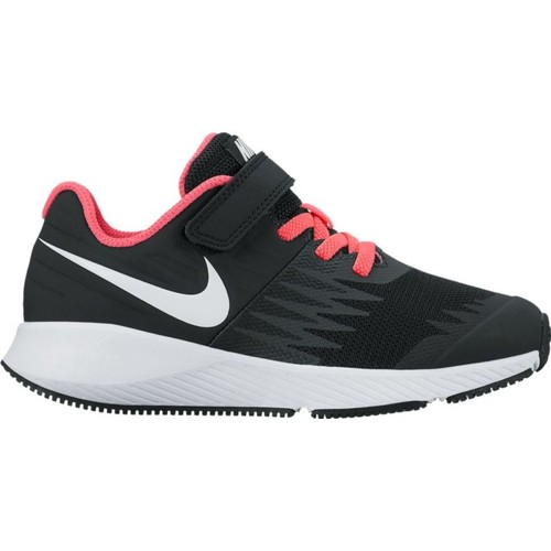 Shoes Girl Low top trainers Nike Girls'  Star Runner (PSV) Pre-School Shoe 921442 NEGRO