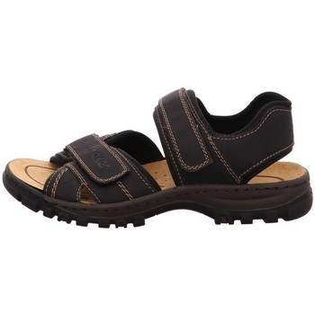 Shoes Men Sandals Rieker 2505101 Black