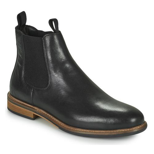 Shoes Men Mid boots Schmoove PILOT CHELSEA Black