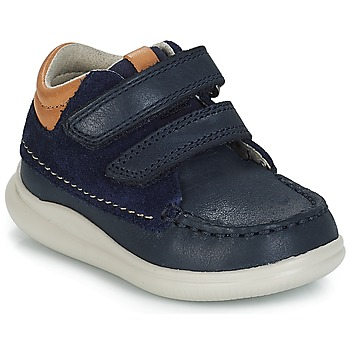 Shoes Boy Hi top trainers Clarks Cloud Tuktu Marine