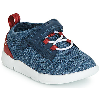 Shoes Boy Low top trainers Clarks Tri Hero Blue / Combi