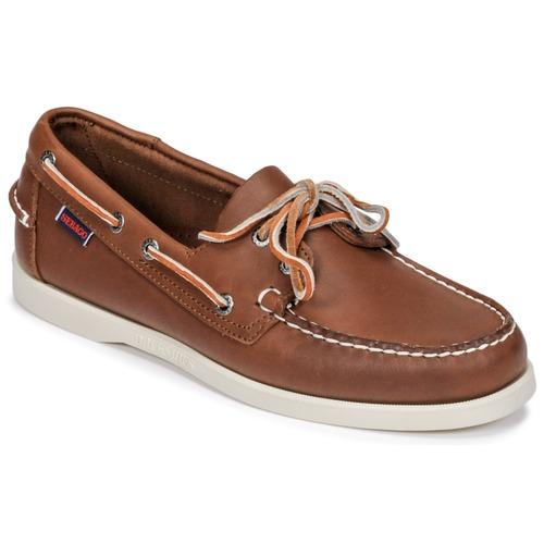 Shoes Men Boat shoes Sebago DOCKSIDES FGL Brown