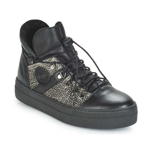 Shoes Women Hi top trainers Pataugas Whip Black