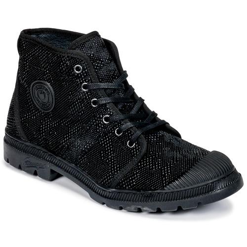 Shoes Women Mid boots Pataugas Authentique TP Black
