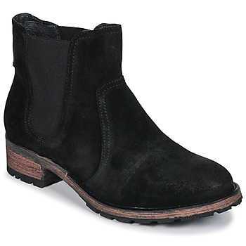 Shoes Women Mid boots Pataugas Dean Black