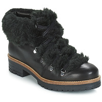 Shoes Women Mid boots Pataugas Task Black