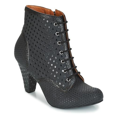 Shoes Women Ankle boots Cristofoli KARANA Black