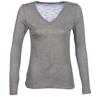 Clothing Women Long sleeved tee-shirts Ikks ANDRO Kaki