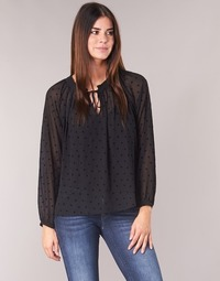 Clothing Women Tops / Blouses Ikks SEMUD Black