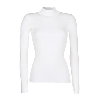 Clothing Women jumpers Ikks RUNO White