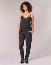 Clothing Women Cargo trousers Ikks MIRSSEEP Black