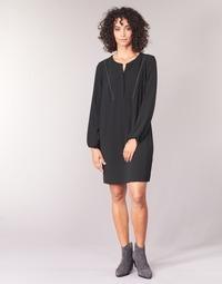 Clothing Women Short Dresses Ikks BURRI Black