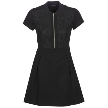 Clothing Women Short Dresses Ikks CIRCEL Black