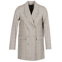 Clothing Women Jackets / Blazers Ikks DASTRE Grey