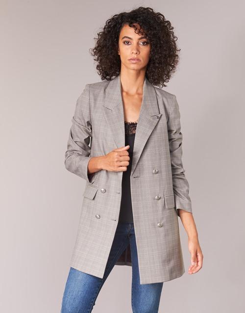 Clothing Women Jackets / Blazers Ikks DASTRE Grey