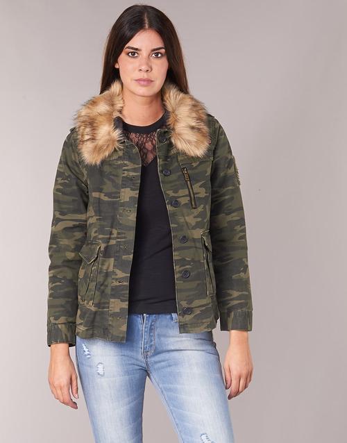 Clothing Women Jackets Ikks REFLEKTION Green