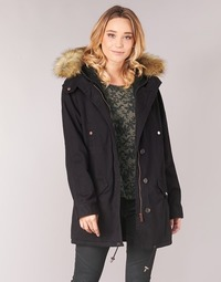 Clothing Women Parkas Ikks FLARW Black