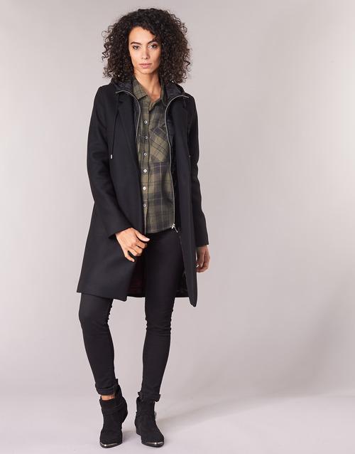 Clothing Women coats Ikks AFTER Black