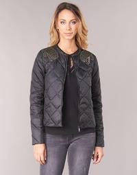 Clothing Women Duffel coats Ikks GLORIA Black