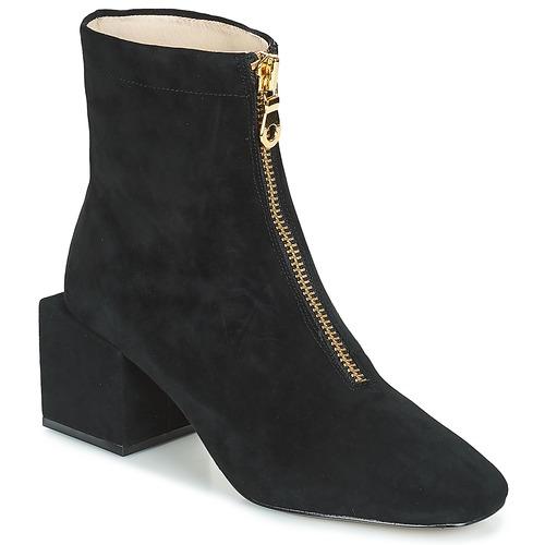 Shoes Women Ankle boots Miss L'Fire JUNE Black
