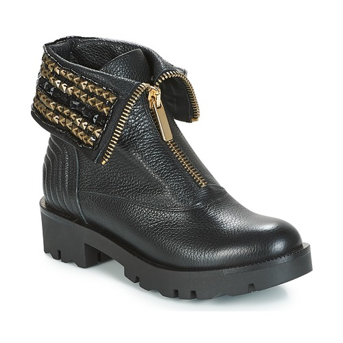 Shoes Women Mid boots Tosca Blu KIRUNA Black