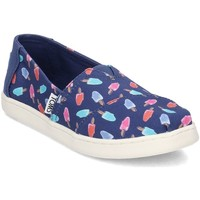 Shoes Children Slippers Toms 10011464 Red-Blue-Navy blue