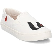 Shoes Children Slip ons Toms 10011482 White