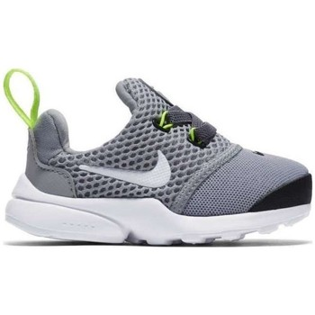 Shoes Children Low top trainers Nike Presto Fly Grey