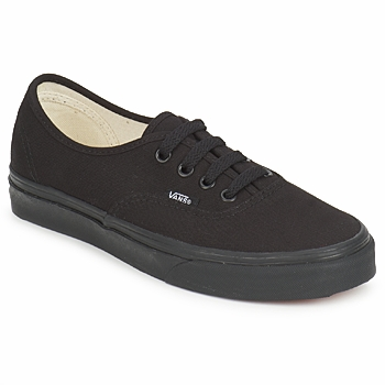 Shoes Low top trainers Vans AUTHENTIC All Black