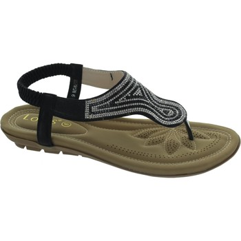 Shoes Women Sandals Lotus Marieta Black
