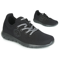 Shoes Women Low top trainers Giesswein MERINO RUNNERS Black