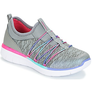 Shoes Girl Fitness / Training Skechers SYNERGY 2.0 Grey
