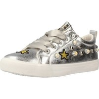 Shoes Girl Low top trainers Conguitos IV551216 Silver