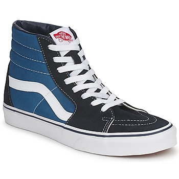 Shoes Hi top trainers Vans SK8 HI NAVY Blue